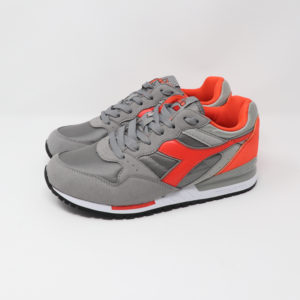 Diadora Intrepid NYL Paloma & Hot Coral
