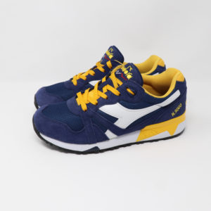 Diadora N9000 II Estate Blue & Daffodil