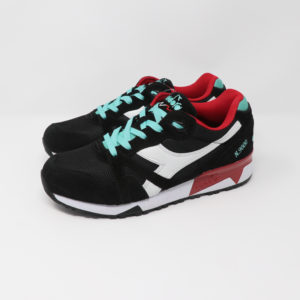 Diadora N9000 III Black Waterfall & Chilli