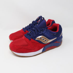 Saucony Grid 9000 Sparring Red, Blue & Gold