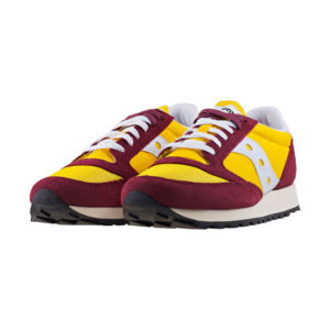Saucony Jazz Original Vintage Burgundy & Yellow