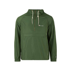 Champion-Reverse-Weave-Windbreaker-Olive-1