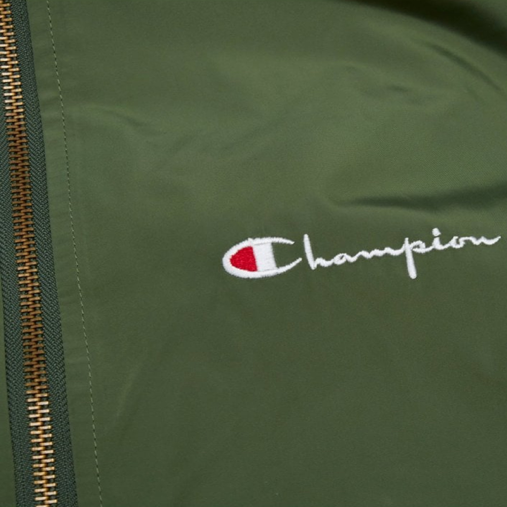 Champion-Reverse-Weave-Windbreaker-Olive-5