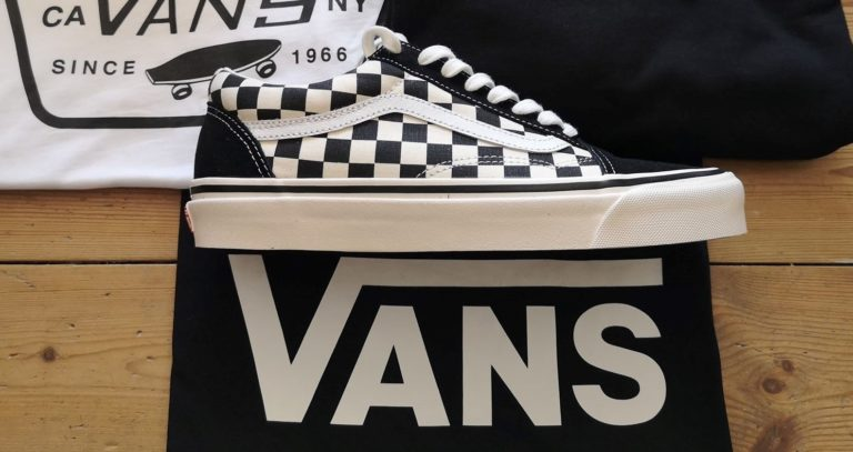 Making a statement: Vans Checkerboard